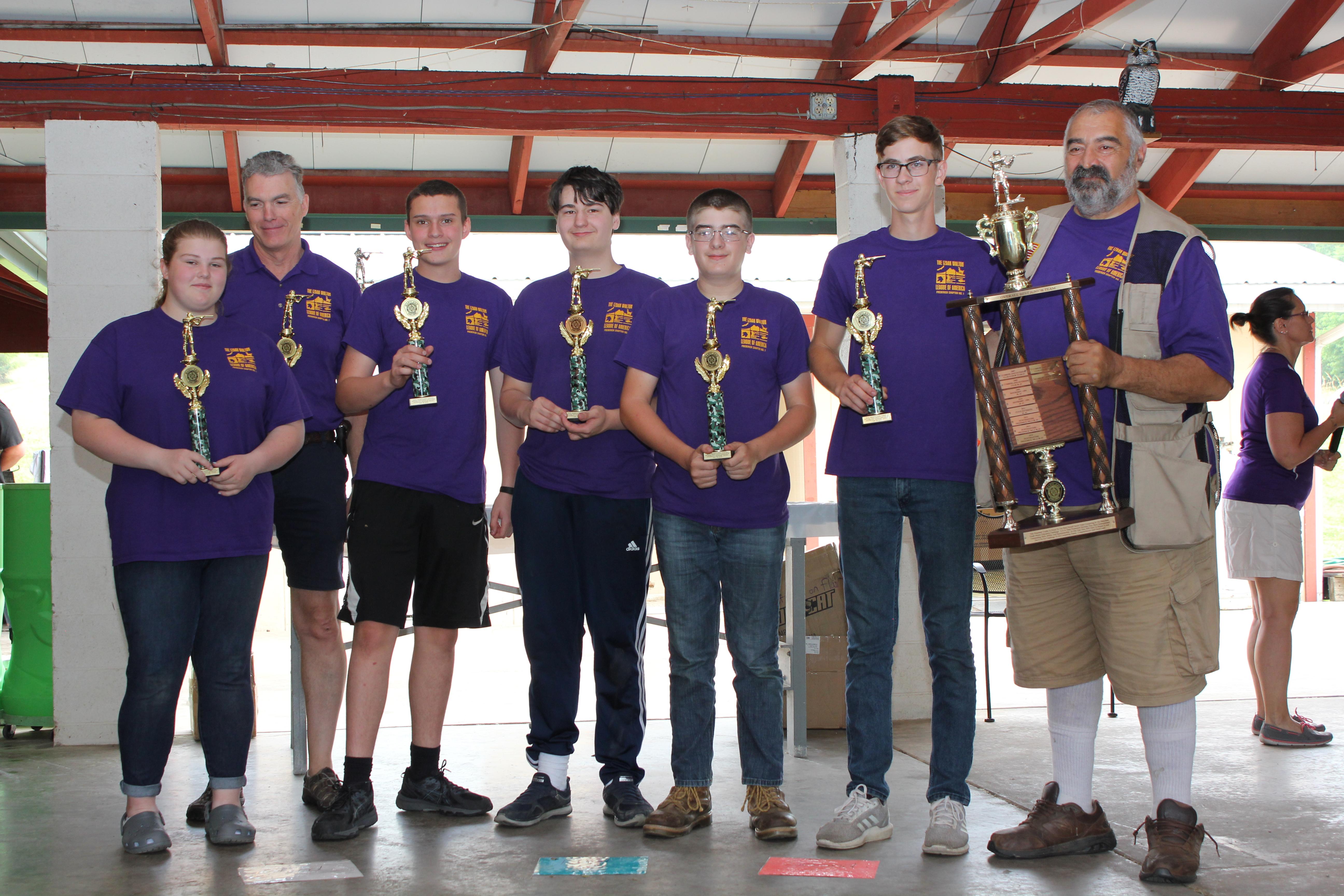 1st Place Senior Team - 2019